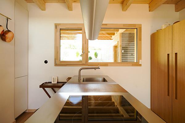 Fenêtres en bois – Cuisine