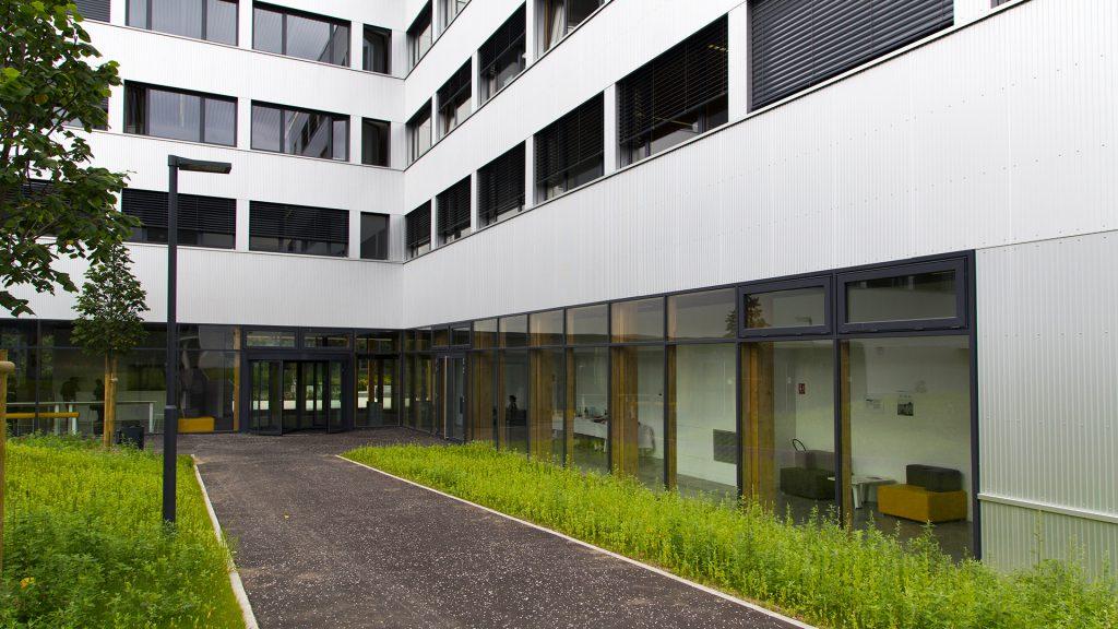Bâtiment max weber bureaux en bois université paris nanterre