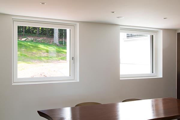 Fenêtre Duoba vue intérieure.